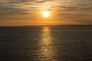 Zonsondergang Australie sur Chris van Kan