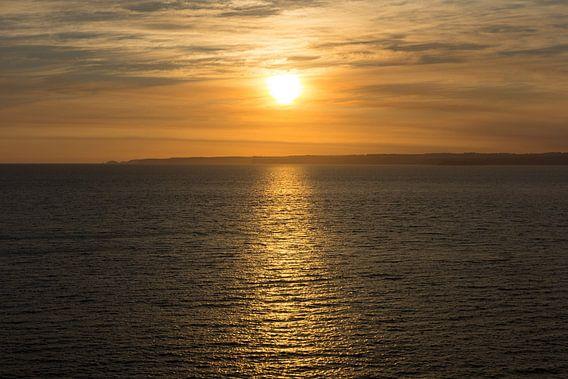 Zonsondergang Australie van Chris van Kan
