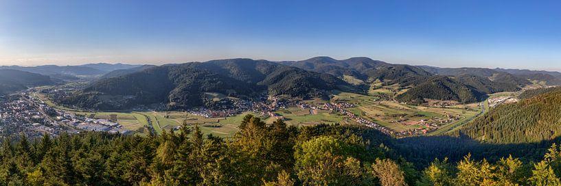 Kinzigtal Panorama von Uwe Ulrich Grün