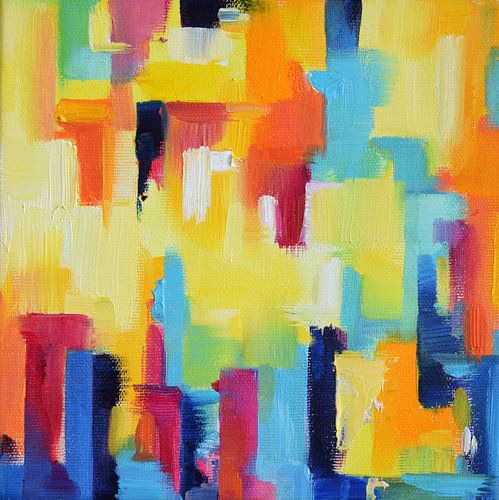 Colorful City van Maria Kitano