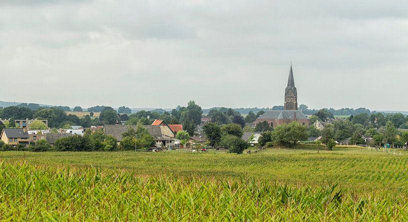 Kerk van Bocholtz in Zuid-limburg van John Kreukniet