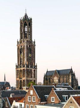 Dom van Utrecht met Kathedraal sur Hans Verhulst