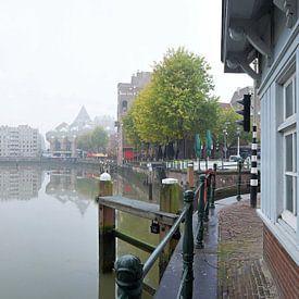 Oude haven Rotterdam van Huub Keulers