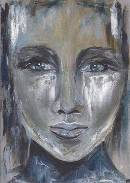 Porträt einer Frau von Pam du Pau