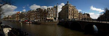 Amsterdamse grachten van Casper Zoethout