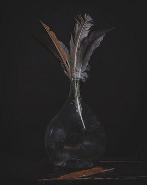 plume dans la bouteille sur Wietske Lavrijssen