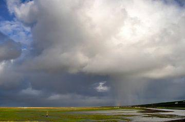 Noordzeebui / Northsea shower van Henk de Boer