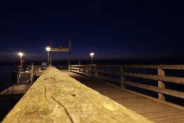 Zeebrug bij nacht van ares64