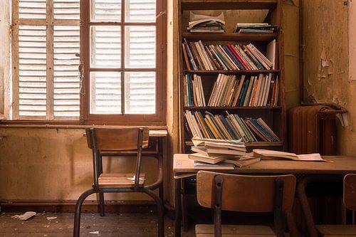 Bureau in Verlaten College. van Roman Robroek