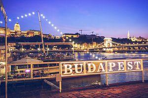 Budapest - Rive du Danube / Pont à Chaîne sur Alexander Voss