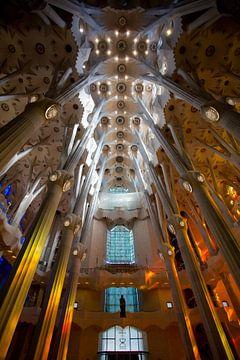 Prachtige Sagrada Familia von Guido Akster