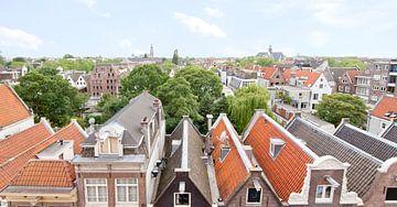 panoramic skyline Amsterdam van
