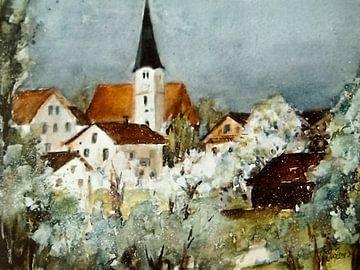 Eggstetten - voorjaarsontwaken van Christine Nöhmeier