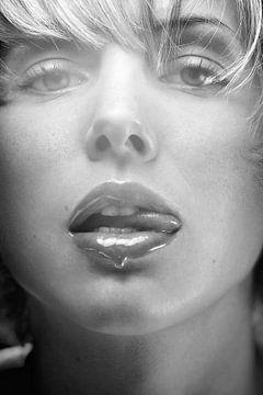 Honig Lippen von Silvio Schoisswohl