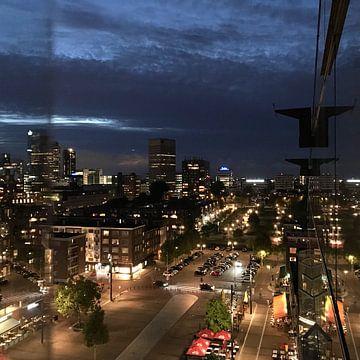 Rotterdamse nachten van Marco Versloot