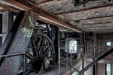 Oude industrie, urban exploring van Henk Elshout
