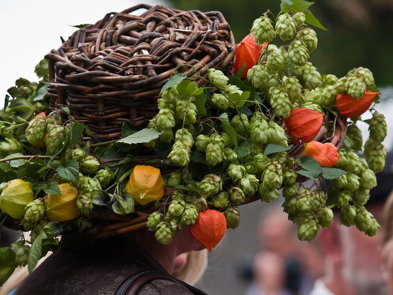 Ook dit is een hoed tijdens Chapeau Buren van M  van den Hoven