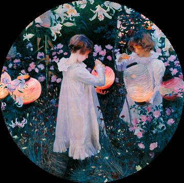 Carnation, Lily, Lily, Rose, John Singer Sargent