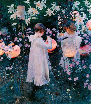 Nelke, Lilie, Lilie, Rose, John Singer Sargent