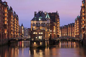 Fleetschlösschen, Speicherstadt, UNESCO Weltkulturerbe, Hamburg von Markus Lange