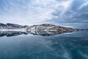 Fjorden reflectie van Leendert Noordzij Photography