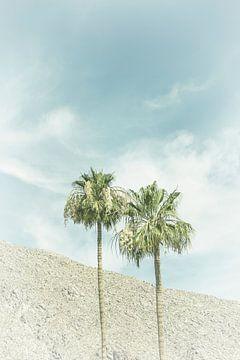 Palmen in der Wüste | Vintage von Melanie Viola