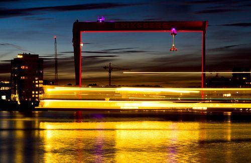 Göteborg Harbour - Sailing By van