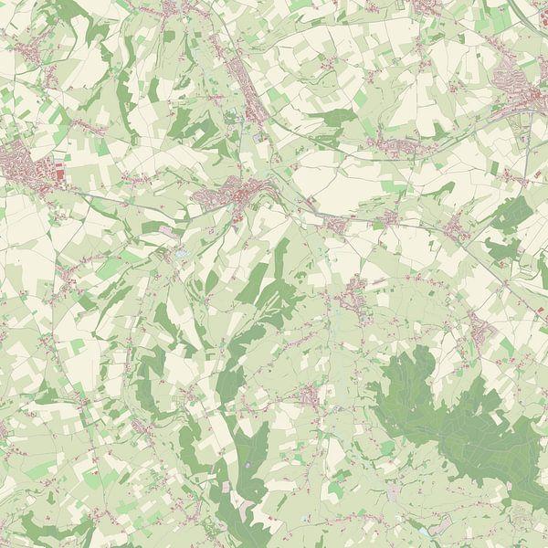 Kaart vanGulpen-Wittem