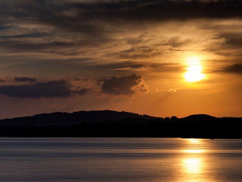 Sonnenuntergang am Staffelsee von Andreas Müller