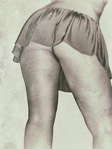 Vintage Nude van Nataly Haneen