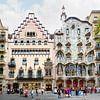 Barcelona   Casa Batllo by Antoni Gaudi von Panorama Streetline Miniaturansicht