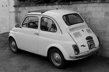 Fiat 500 Oldtimer Italië van Inge Hogenbijl