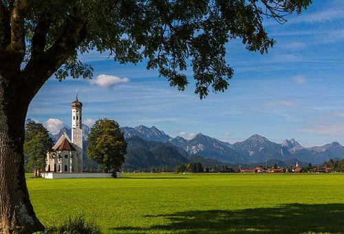 Colomanskirche in Schwangau von Remko Bochem