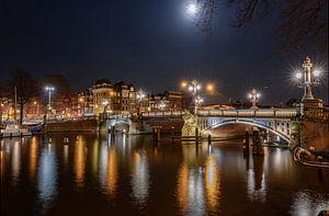 Le Blauwbrug de nuit