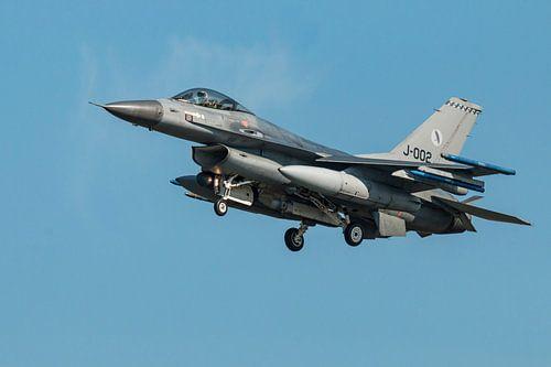 F16, J-002. Nederland van Gert Hilbink