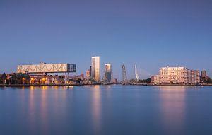 Rotterdam blue morning