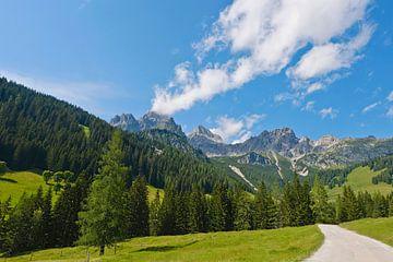 Bischofsmütze Mountain Peak van Andreas Kilian