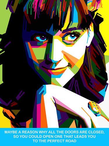 Pop Art Katy Perry van
