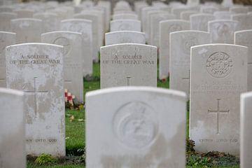Stille herdenking aan Wereld Oorlog I van