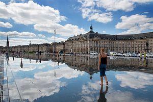 Mirror of Bordeaux van