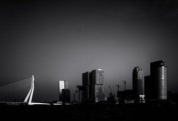 Skyline von Rotterdam von Friso Kooijman