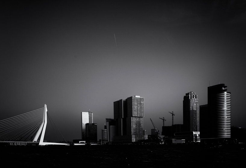 Skyline of Rotterdam van Friso Kooijman