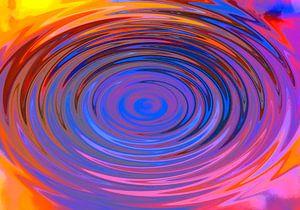 Neonwirbel von Wieland Teixeira