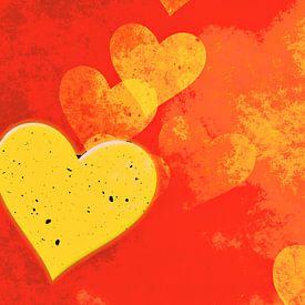 Coeur d'or sur Leopold Brix