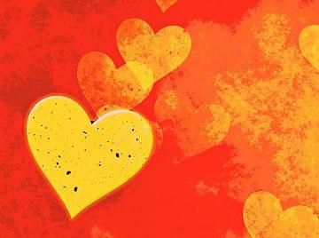 Goldenes Herz von Leopold Brix