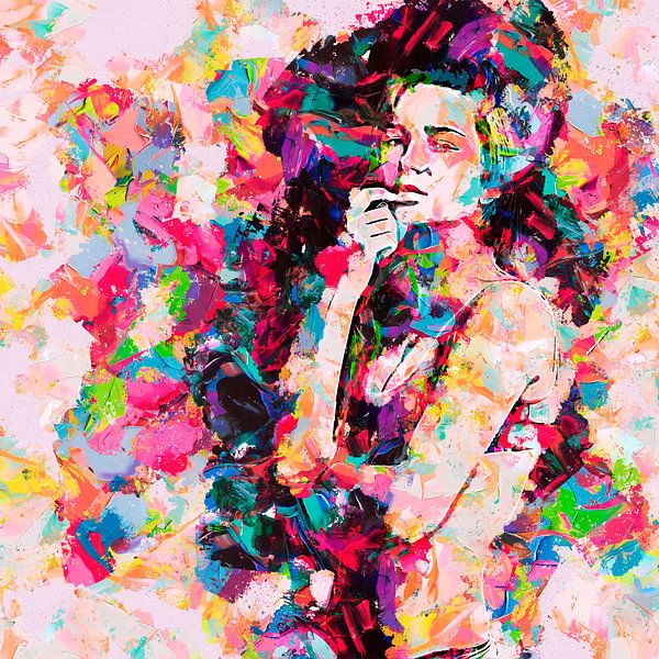 Nachdenkliches Mädchen von Peter Roder