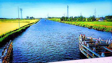 Van Harinxmakanaal, Friesland van Digital Art Nederland