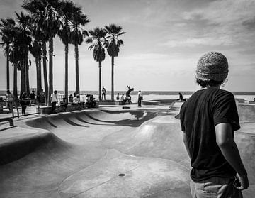 Skater boy  van Ton Kool