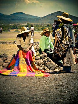 Mexican Woman van Kevin Brandau