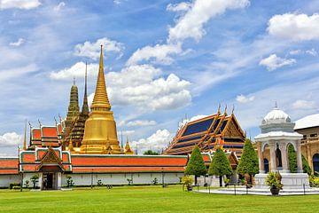 Königlicher Palast in Bangkok, Thailand von Richard van der Woude